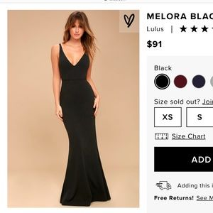 Lulu's Melora Black Sleeveless Maxi Dress